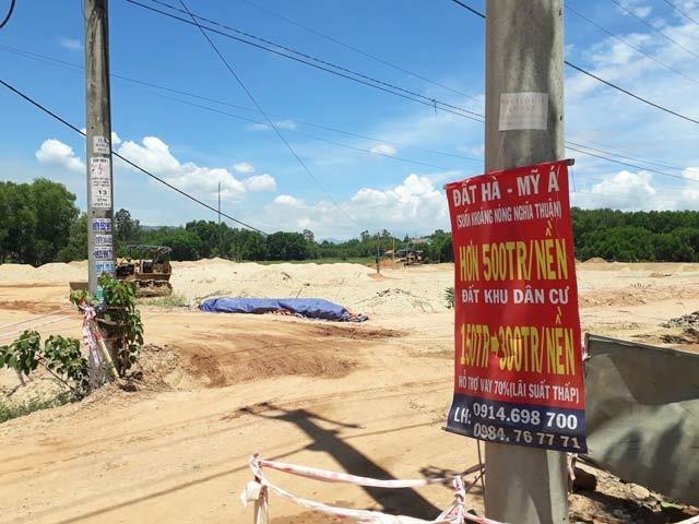 Dự án khu dân cư Nghĩa Thuận 'bán lúa non', chủ đầu tư phủi trách nhiệm? - Ảnh 2