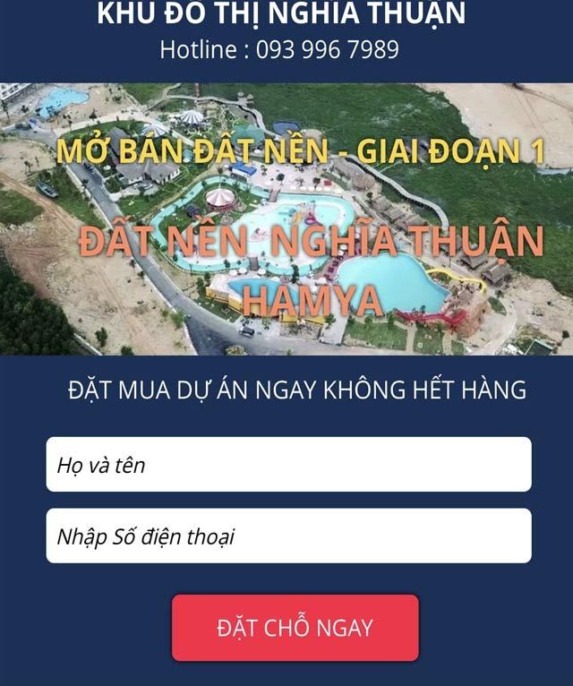 Dự án khu dân cư Nghĩa Thuận 'bán lúa non', chủ đầu tư phủi trách nhiệm? - Ảnh 3