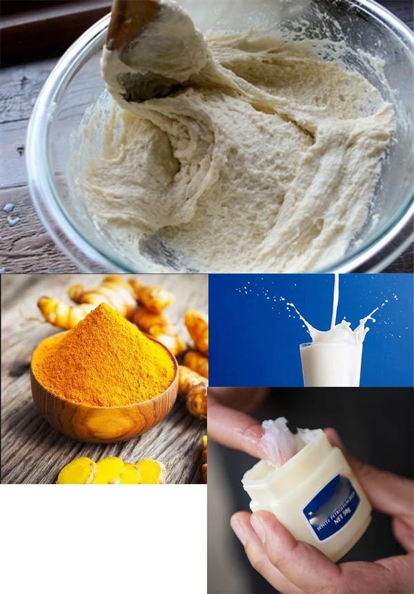 Tẩy sạch lông tại nhà chỉ tốn 3 ngàn đồng nhờ kem nẻ và bột mì - Ảnh 1