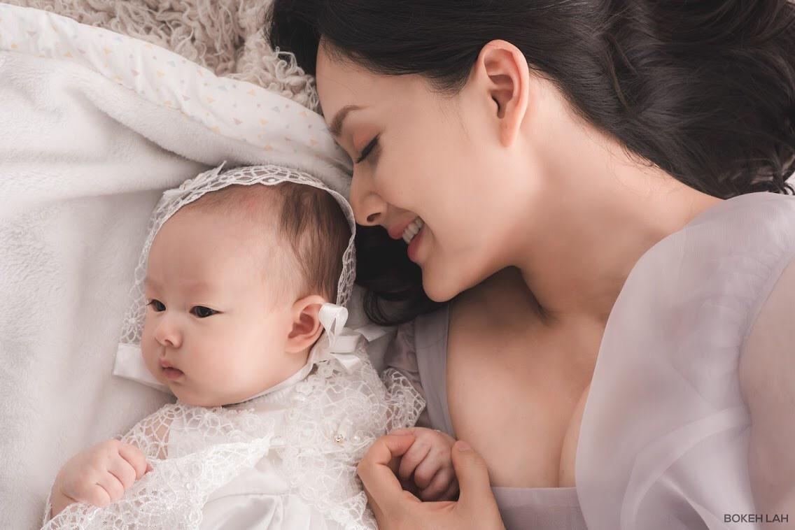 'Nàng dâu order' Lan Phương tiết lộ ngôn ngữ riêng sử dụng trong giao tiếp với con gái - Ảnh 9