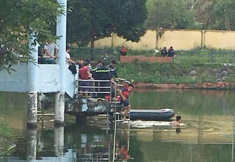 Chèo thuyền trên hồ, hai học sinh cấp 3 tử nạn - Ảnh 2