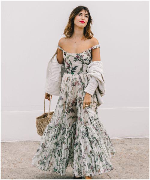 Mùa mới, diện váy công chúa xuống phố là xu hướng - Ảnh 1