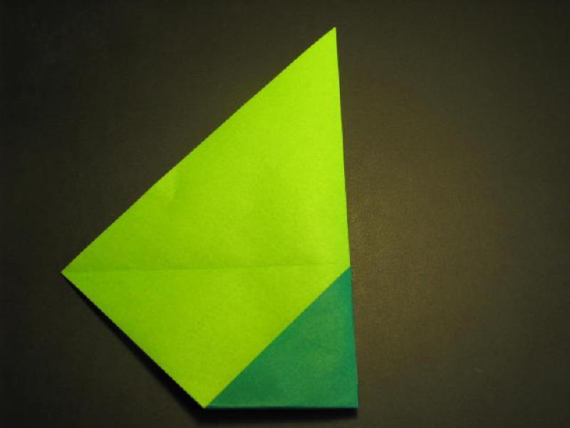 Tiếp theo lật tờ giấy và bạn sẽ thấy như hình