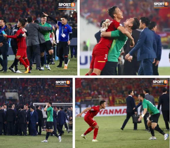 'Thủ thành bất bại' Văn Lâm của trận chung kết AFF Cup: Cứ lọt vào khung hình là đẹp tựa diễn viên chính phim thần tượng - Ảnh 4