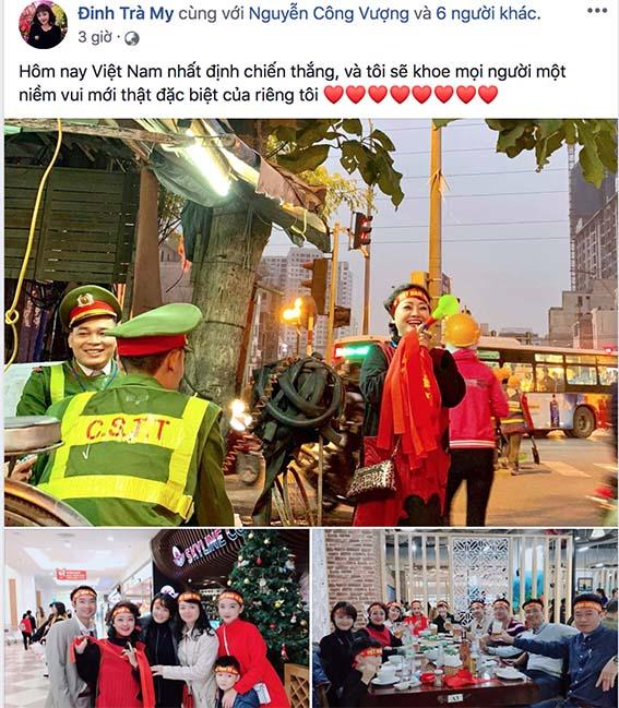 Vượng râu ứng khẩu thành thơ, Hoàng Bách thấy Tết sớm khi Việt Nam vô địch AFF Cup - Ảnh 2