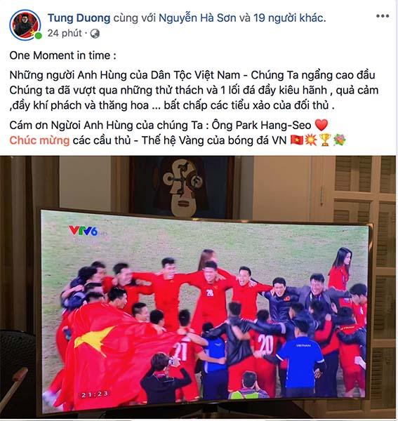 Vượng râu ứng khẩu thành thơ, Hoàng Bách thấy Tết sớm khi Việt Nam vô địch AFF Cup - Ảnh 3