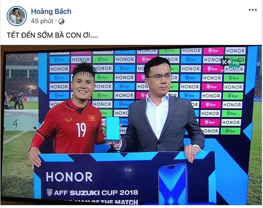 Vượng râu ứng khẩu thành thơ, Hoàng Bách thấy Tết sớm khi Việt Nam vô địch AFF Cup - Ảnh 5