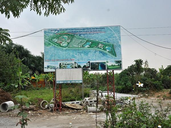 Cận cảnh dự án Hà Nội Westgate liên tục nâng thời gian bỏ hoang - Ảnh 1