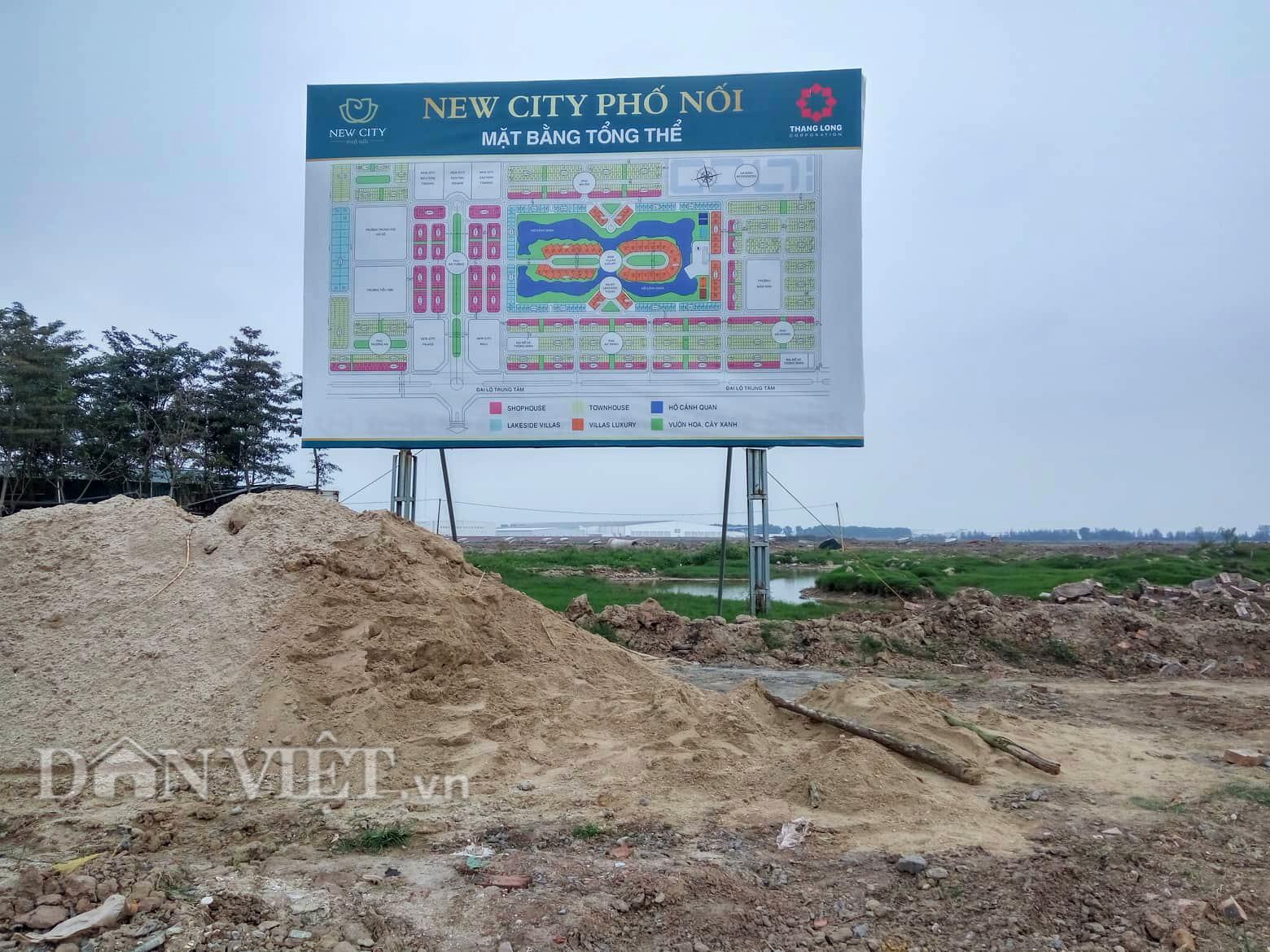Chi 2 tỷ mua lô đất dự án New City Phố Nối, khách hàng chịu phí dịch vụ gần 600 triệu - Ảnh 1