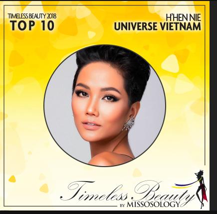 H'Hen Niê gây bất ngờ khi dẫn đầu Top 10 người đẹp nhất Thế giới 2018, vượt qua Phương Khánh - Ảnh 3
