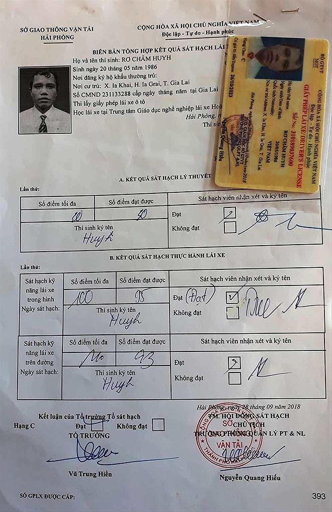 Người dân Gia Lai ra Hải Phòng thi bằng lái: Mù chữ vẫn được 'bao' đậu - Ảnh 2