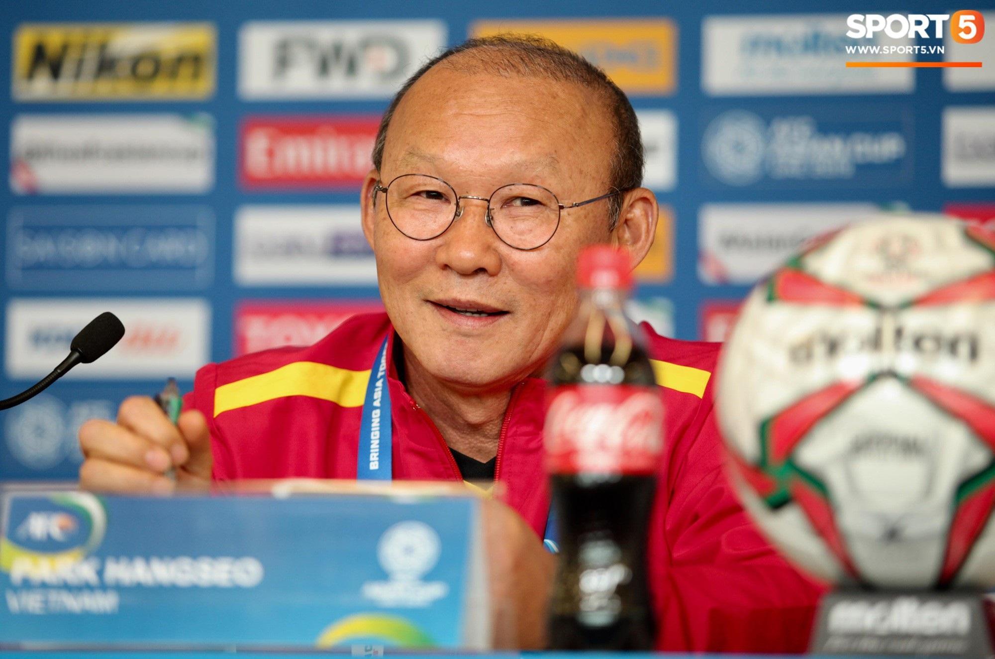 HLV Park Hang-seo: Quang Hải hứa với tôi sẽ ghi bàn và đã thực hiện được - Ảnh 1