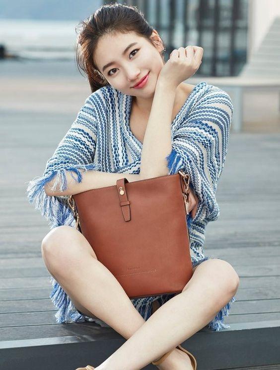 Bí quyết diện đồ luôn trẻ trung của nghệ sĩ xứ Hàn Suzy - Ảnh 1
