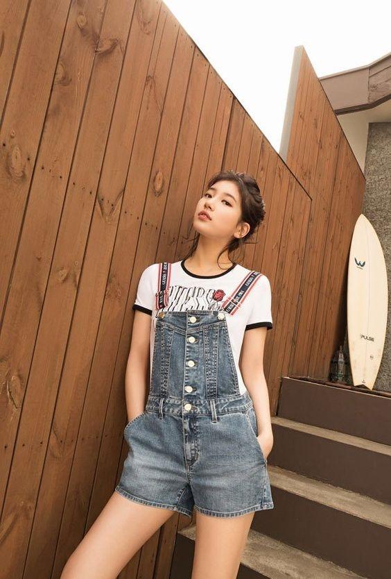 Bí quyết diện đồ luôn trẻ trung của nghệ sĩ xứ Hàn Suzy - Ảnh 2