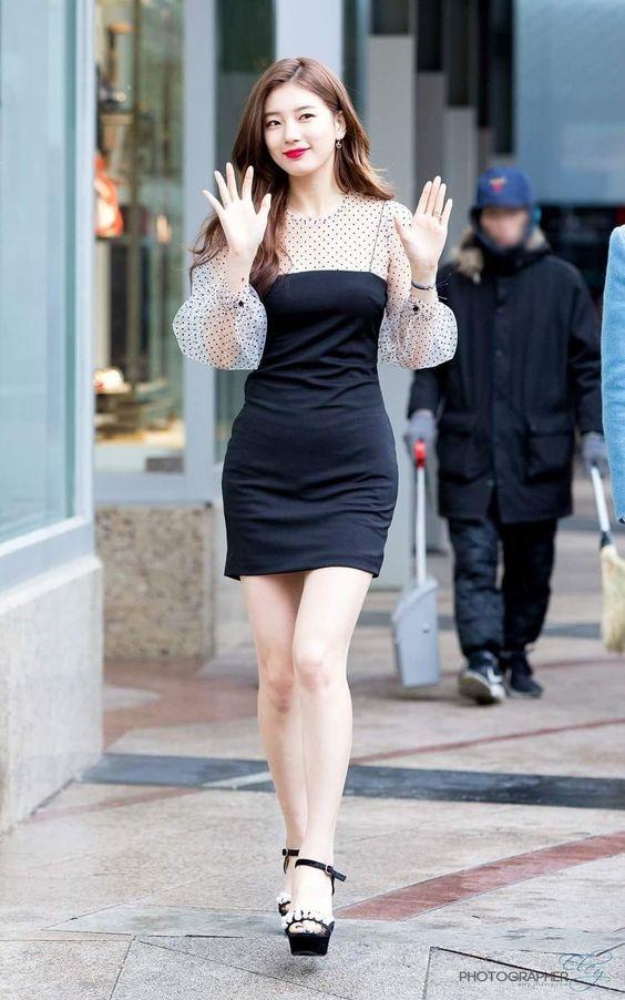 Bí quyết diện đồ luôn trẻ trung của nghệ sĩ xứ Hàn Suzy - Ảnh 8