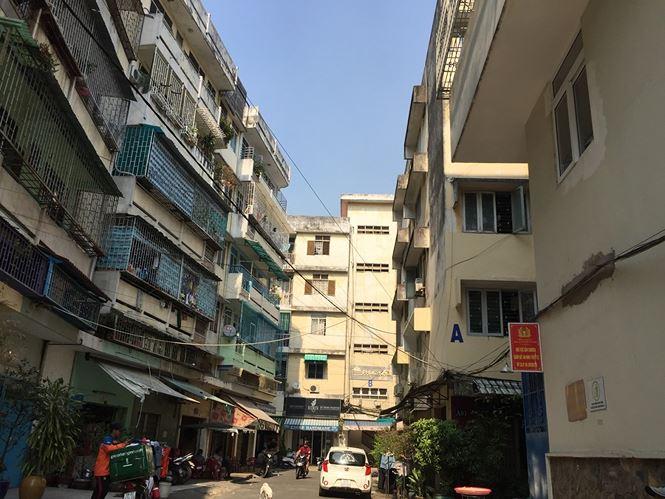 Sẽ tháo dỡ, xây mới chung cư nghiêng nguy hiểm ở Sài Gòn - Ảnh 2