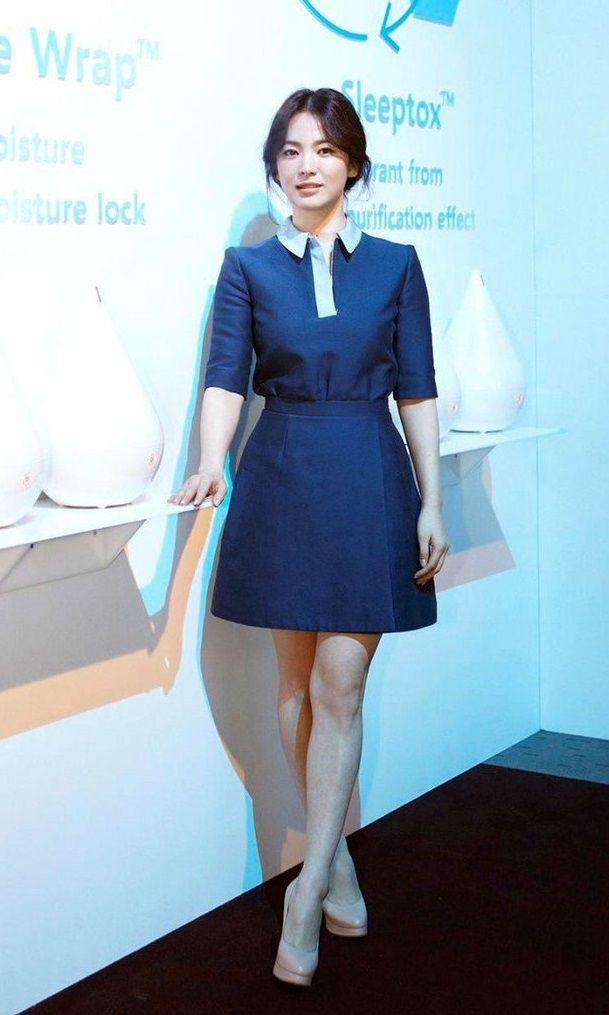 Học Song Hye Kyo 3 'bí kíp' chọn váy này, cô nàng 'nấm lùn' trông cao lên cả chục centimet, vóc dáng lại thon gọn bất ngờ - Ảnh 3