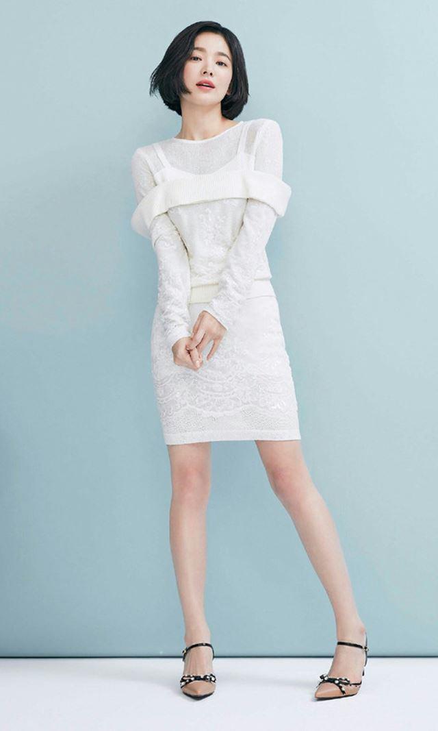 Học Song Hye Kyo 3 'bí kíp' chọn váy này, cô nàng 'nấm lùn' trông cao lên cả chục centimet, vóc dáng lại thon gọn bất ngờ - Ảnh 6