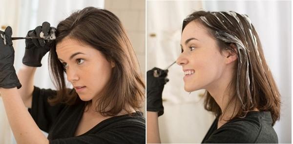 Nhuộm tóc đẹp long lanh chẳng kém gì ngoài tiệm chỉ bằng 1 lọ oxy già mà không lo hại hay hóa chất, vậy tội gì mà không thử! - Ảnh 3