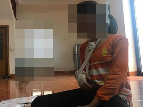 Gã bán thịt xâm hại bé 9 tuổi trong vườn chuối ôm mặt khóc nức nở vì không ngờ công an tìm ra mình nhanh thế - Ảnh 2