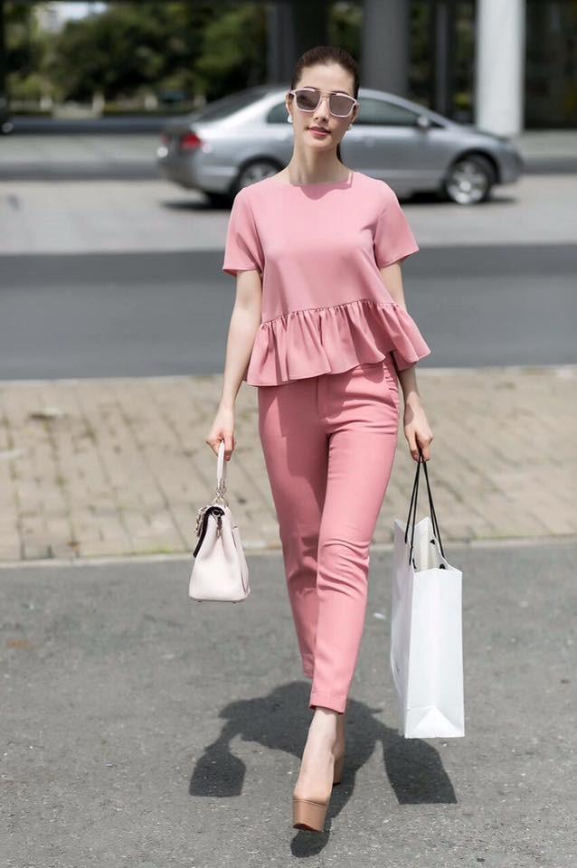 Phối đồ với gam màu hồng pastel: 'Bánh bèo' nhưng sang chảnh, điệu đà hết nấc - Ảnh 16