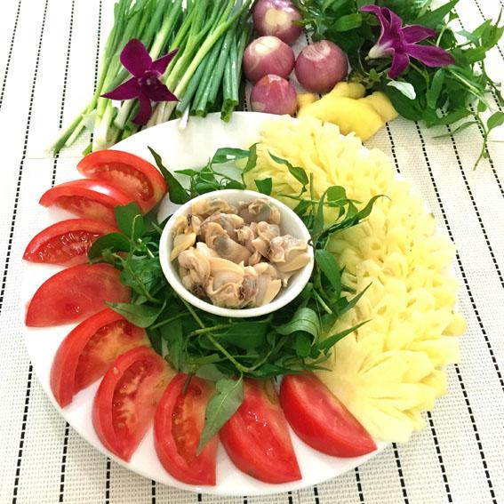 Cách làm món canh ngao nấu chua thanh mát cho ngày nắng nóng - Ảnh 2