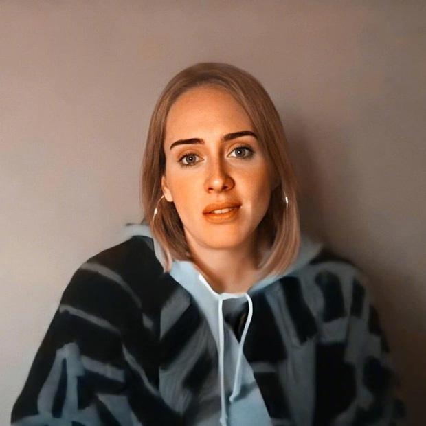 Adele gây bão MXH với hình ảnh sau khi giảm 45kg: Nhan sắc thăng hạng vùn vụt, thần thái rạng ngời sức sống - Ảnh 2
