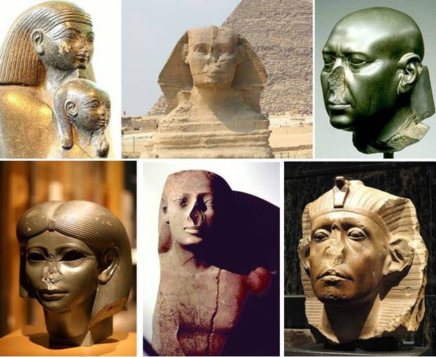 Lý do tại sao rất nhiều tượng Ai Cập cổ bị mất mũi: Bí ẩn gây đau đầu và đáp án đến từ những kẻ trộm mộ - Ảnh 3