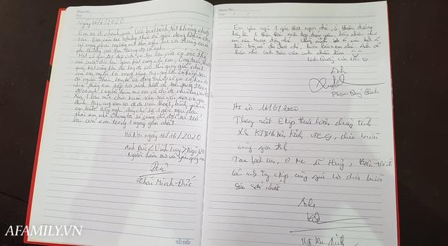 Vô cùng xúc động với dòng tâm sự trong cuốn sổ tang do BTV Quang Minh, BTV Long Vũ gửi gắm cho nữ MC Diệu Linh lần cuối - Ảnh 5