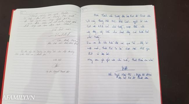 Vô cùng xúc động với dòng tâm sự trong cuốn sổ tang do BTV Quang Minh, BTV Long Vũ gửi gắm cho nữ MC Diệu Linh lần cuối - Ảnh 7