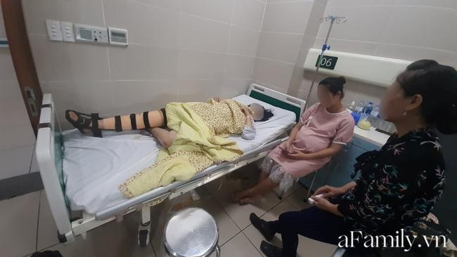 Vụ thai phụ 32 tuần mất con trong tai nạn ở Hà Nội: Gia đình chưa cho người mẹ biết chuyện - Ảnh 1