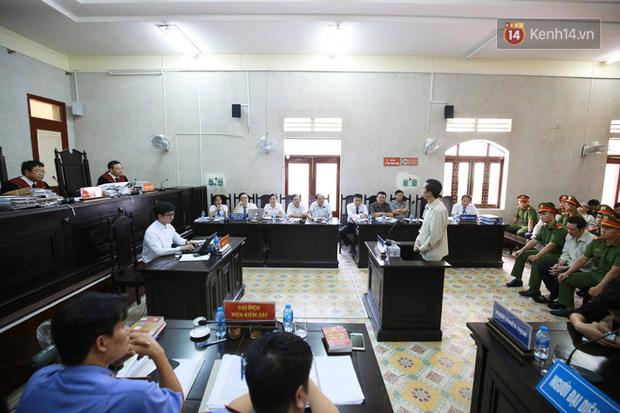Xử phúc thẩm vụ nữ sinh giao gà, Bùi Văn Công nói to 'Không phải kháng cáo gì hết, đứa nào có tội thì tử hình luôn' - Ảnh 1