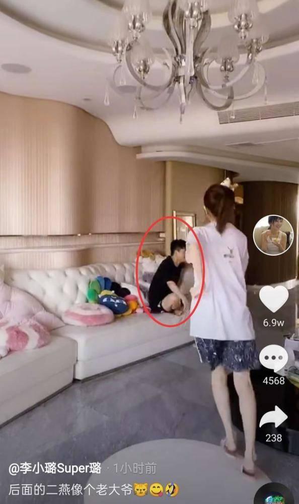 Xuất hiện bóng dáng người đàn ông 'bí ẩn' trên livestream của Lý Tiểu Lộ, netizen gọi tên Giả Nãi Lượng - Ảnh 6