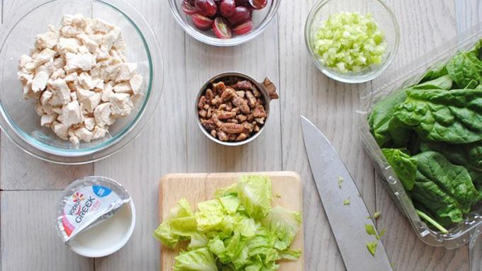 Ghim ngay công thức làm 2 món salad gà cực ngon cực dễ - Ảnh 1