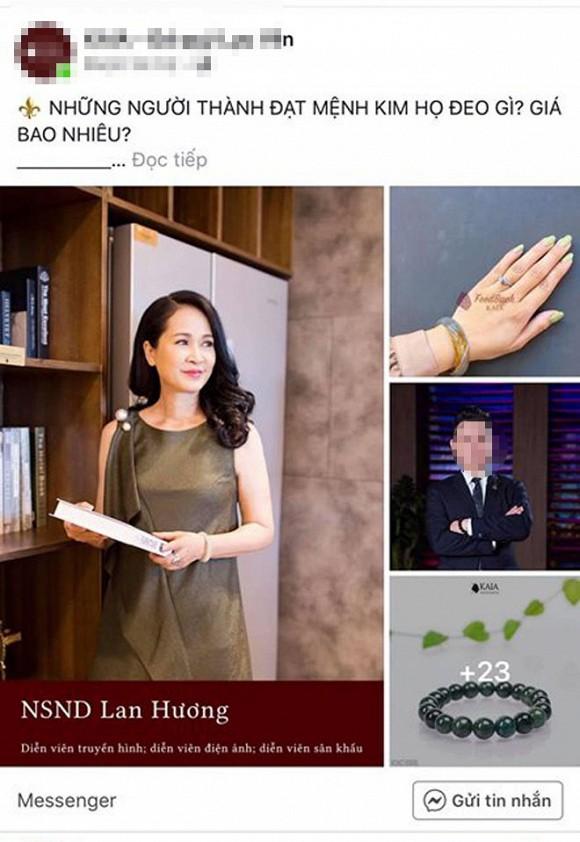 Bức xúc vì hình ảnh bản thân bị lợi dụng, NSND Lan Hương đăng đàn: 'Đề nghị gỡ ngay' - Ảnh 1
