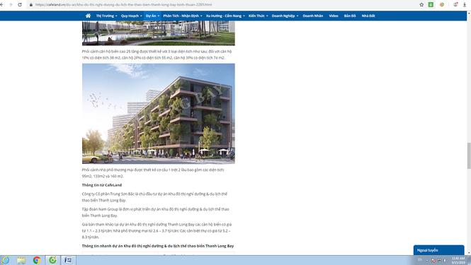 """""""Tuýt còi"""" siêu dự án Thanh Long Bay rao bán nhà trên giấy - Ảnh 2"""