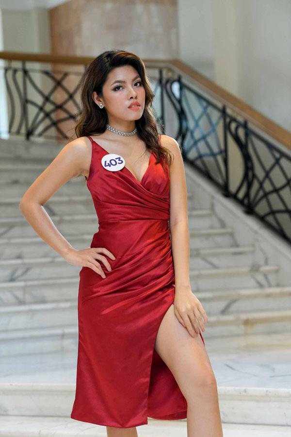 Bí quyết tăng cân không tăng mỡ của cô gái Việt kiều thi Hoa hậu Hoàn vũ - Ảnh 1