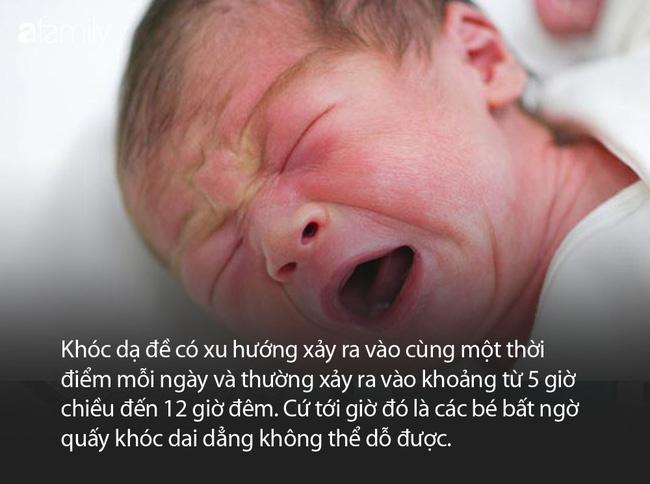Vì sao cứ chiều tối về đêm các em bé mới sinh khóc mãi không thôi, ai dỗ kiểu gì cũng không nín? - Ảnh 1