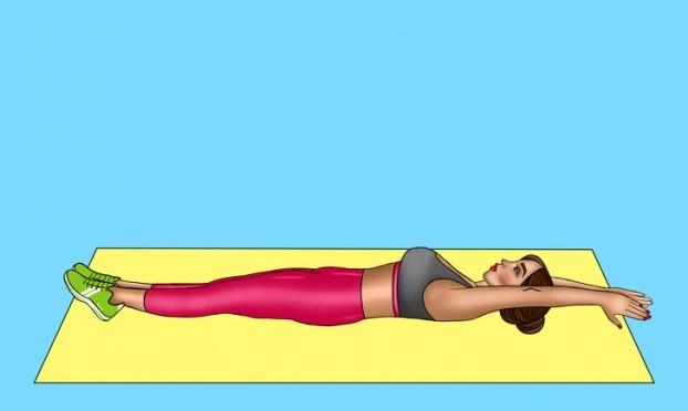 8 bài tập giảm mỡ bụng cấp tốc giúp chị em tự tin đón Tết - Ảnh 12