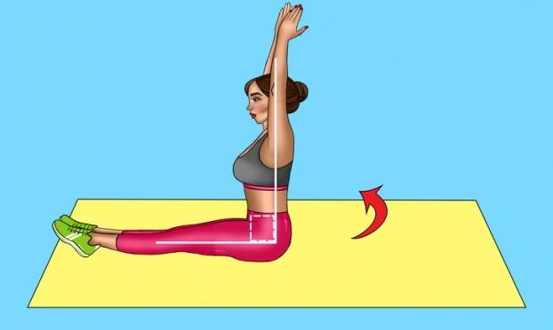 8 bài tập giảm mỡ bụng cấp tốc giúp chị em tự tin đón Tết - Ảnh 13
