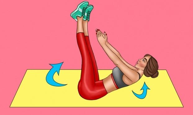 8 bài tập giảm mỡ bụng cấp tốc giúp chị em tự tin đón Tết - Ảnh 4