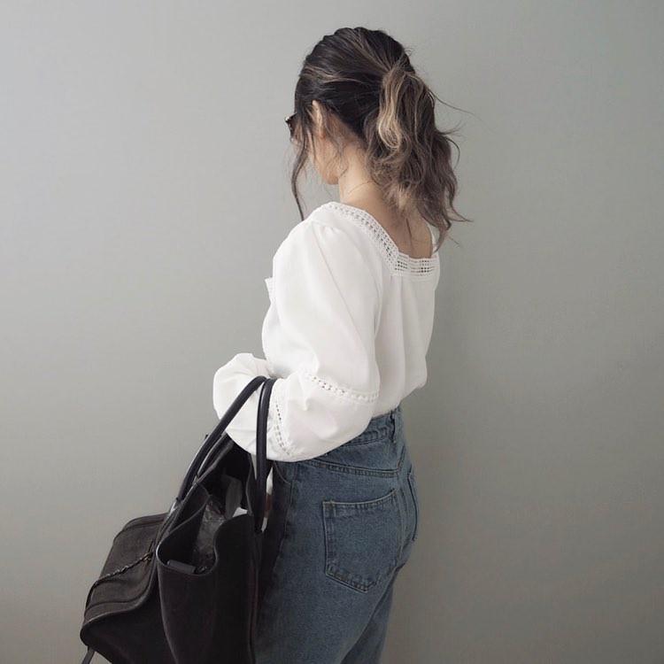 16 gợi ý diện áo blouse dài tay vừa đẹp vừa xinh, đảm bảo bạn sẽ muốn mặc mãi trong thời điểm giao mùa này - Ảnh 17
