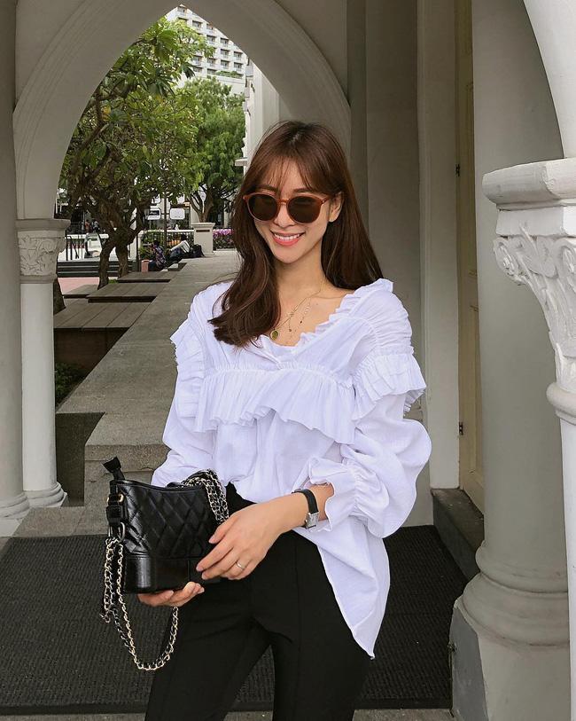 16 gợi ý diện áo blouse dài tay vừa đẹp vừa xinh, đảm bảo bạn sẽ muốn mặc mãi trong thời điểm giao mùa này - Ảnh 5