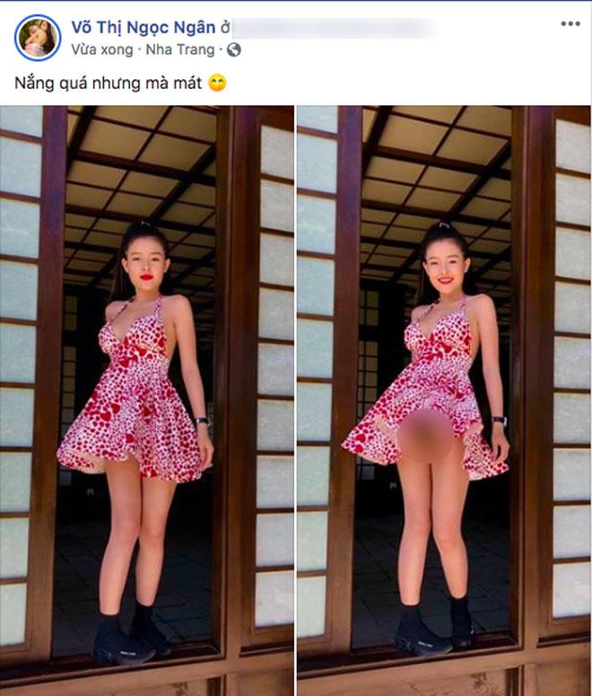 Bạn gái kém 16 tuổi của Lương Bằng Quang lại bị chỉ trích vì khoe thân phản cảm - Ảnh 1