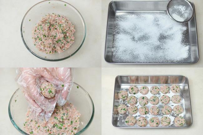 Thịt viên chiên làm theo cách của người Hàn vừa mềm lại ngọt ngon - Ảnh 3