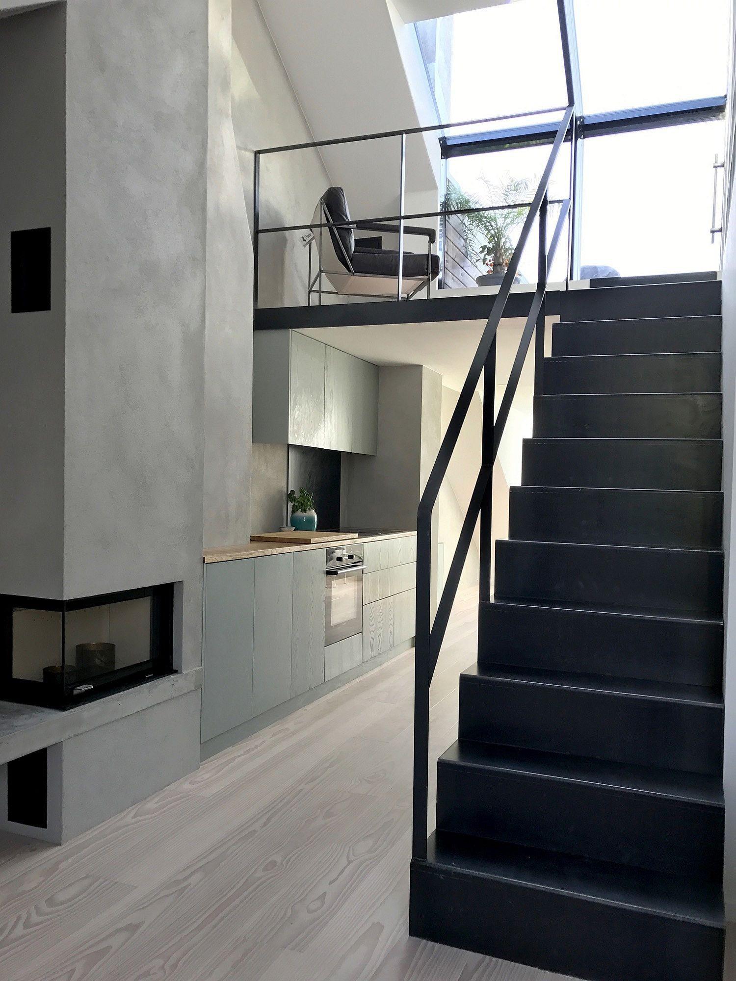 Biến hóa gác xép cũ thành căn hộ hiện đại, xinh xắn đầy ánh sáng tự nhiên - Ảnh 2