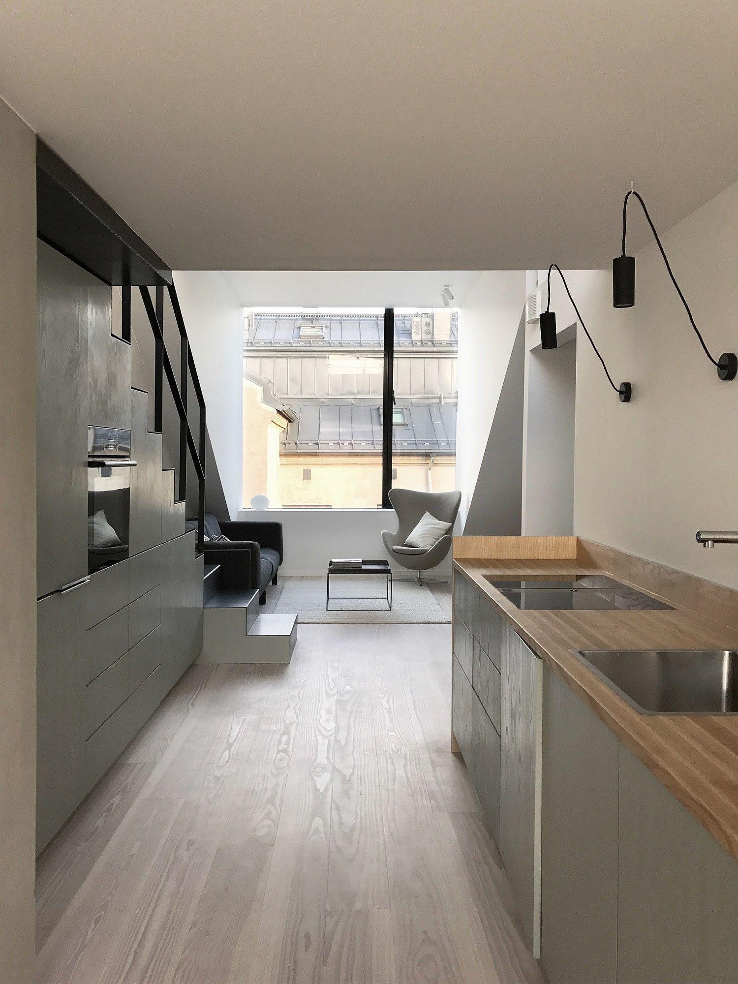 Biến hóa gác xép cũ thành căn hộ hiện đại, xinh xắn đầy ánh sáng tự nhiên - Ảnh 5