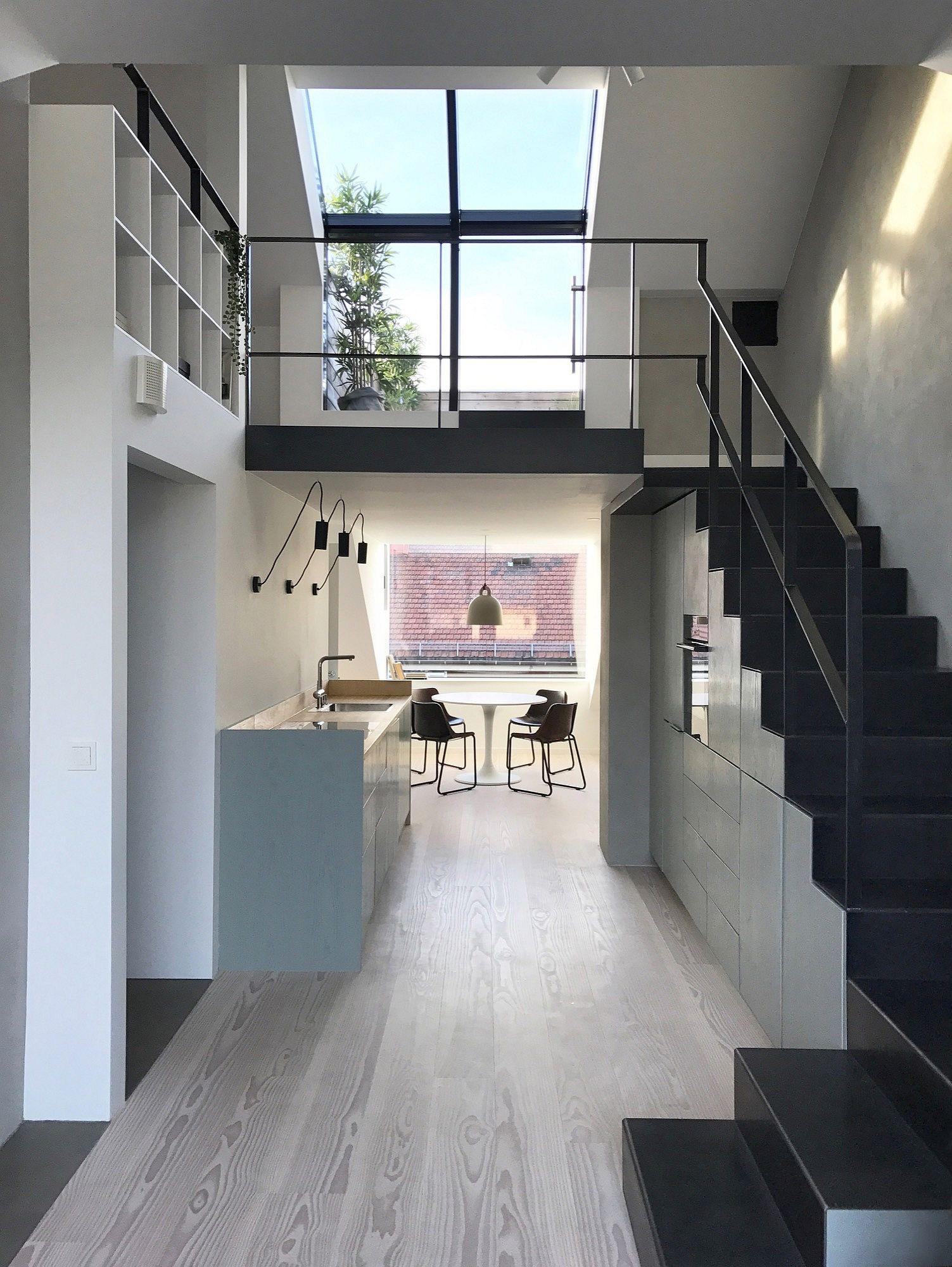 Biến hóa gác xép cũ thành căn hộ hiện đại, xinh xắn đầy ánh sáng tự nhiên - Ảnh 9
