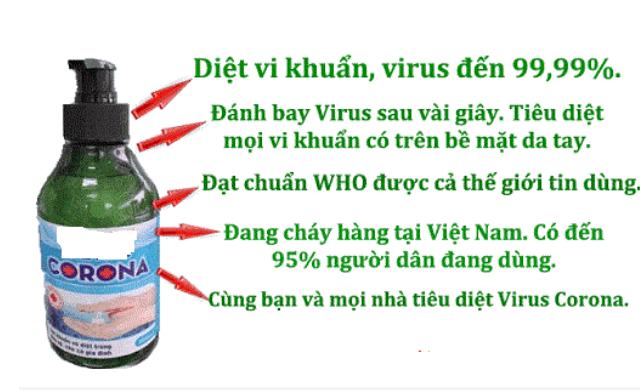Cảnh giác với nội dung quảng cáo thực phẩm bảo vệ sức khỏe diệt COVID-19 - Ảnh 1