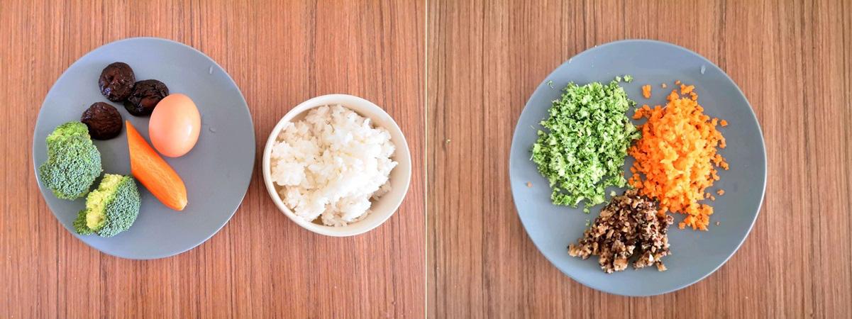 Tận dụng cơm nguội, tôi làm cơm viên rau củ mang đi làm ăn trưa hôm sau vừa tiện vừa ngon - Ảnh 1